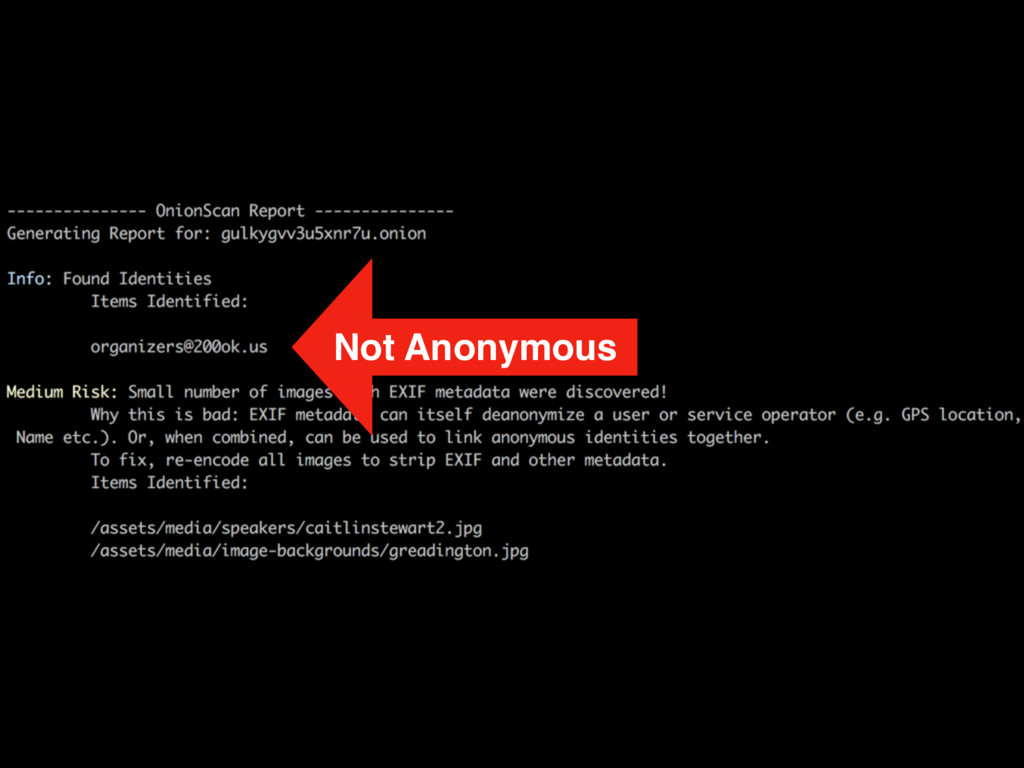 Not Anonymous