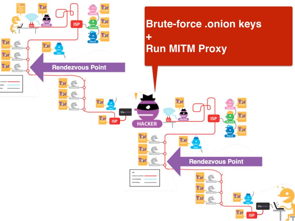 Brute-force .onion keys + Run MITM Proxy