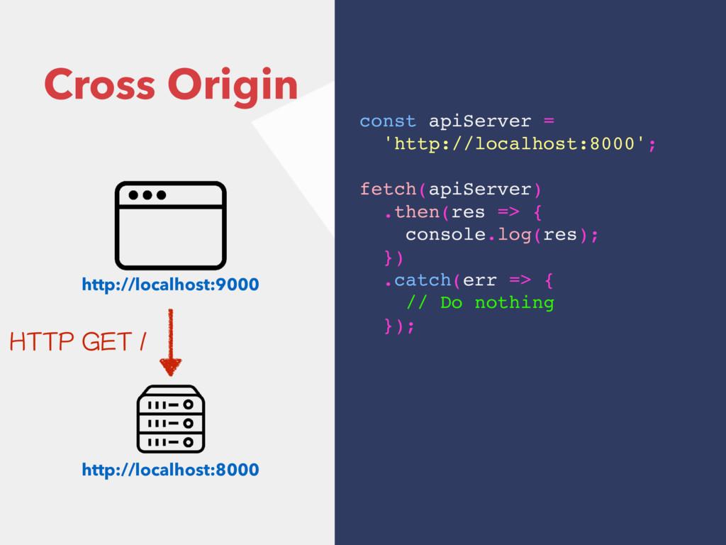 Cross Origin http://localhost:9000 http://local...