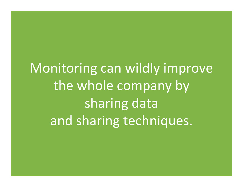 Monitoring	
