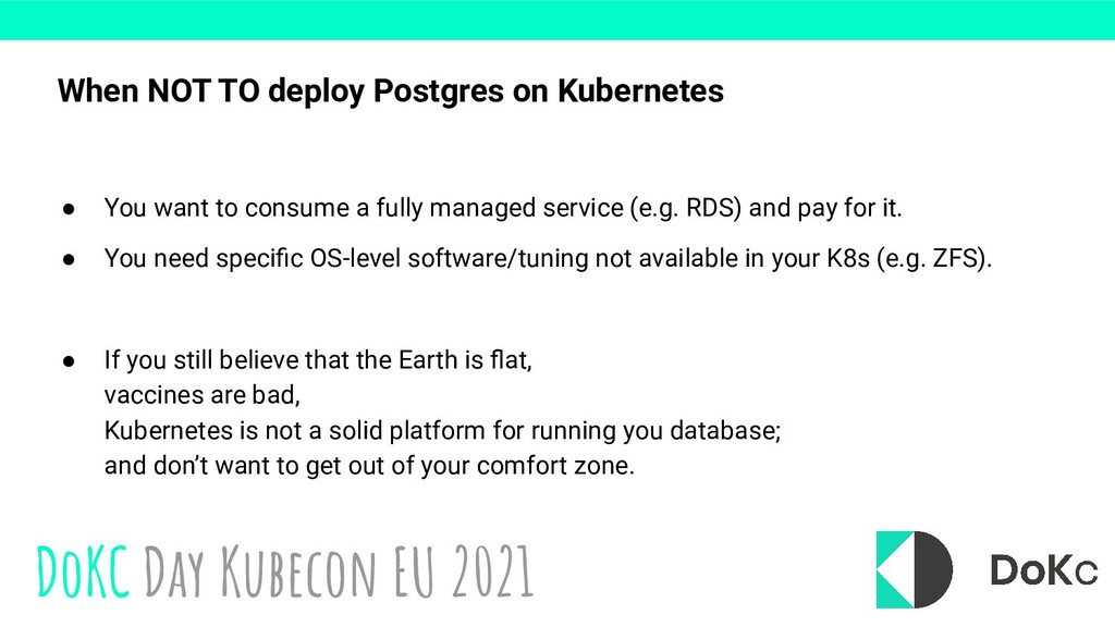 DoKC Day Kubecon EU 2021 ● You want to consume ...