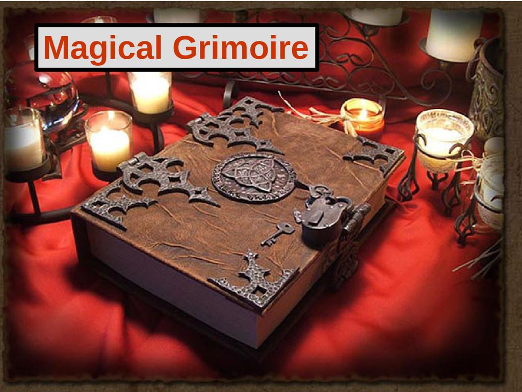 Magical Grimoire
