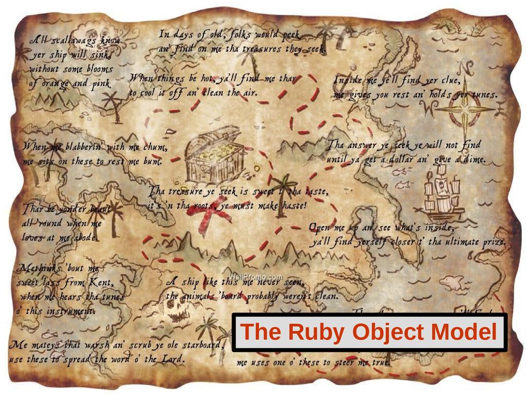 The Ruby Object Model