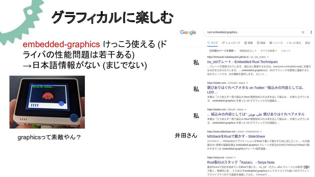 グラフィカルに楽しむ embedded-graphics けっこう使える (ド ライバの性能問...