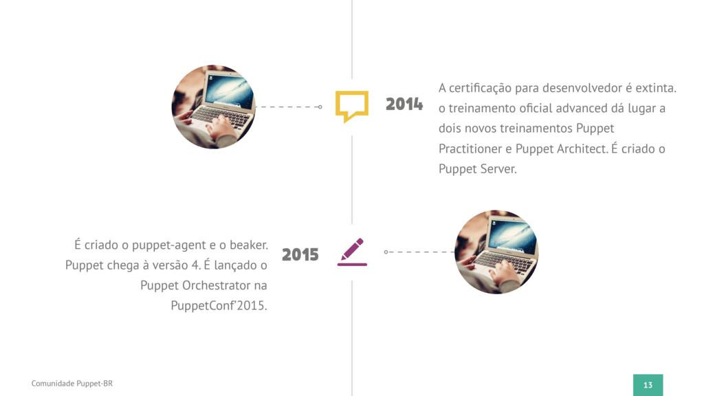 13 Comunidade Puppet-BR 2014 A certificação para...