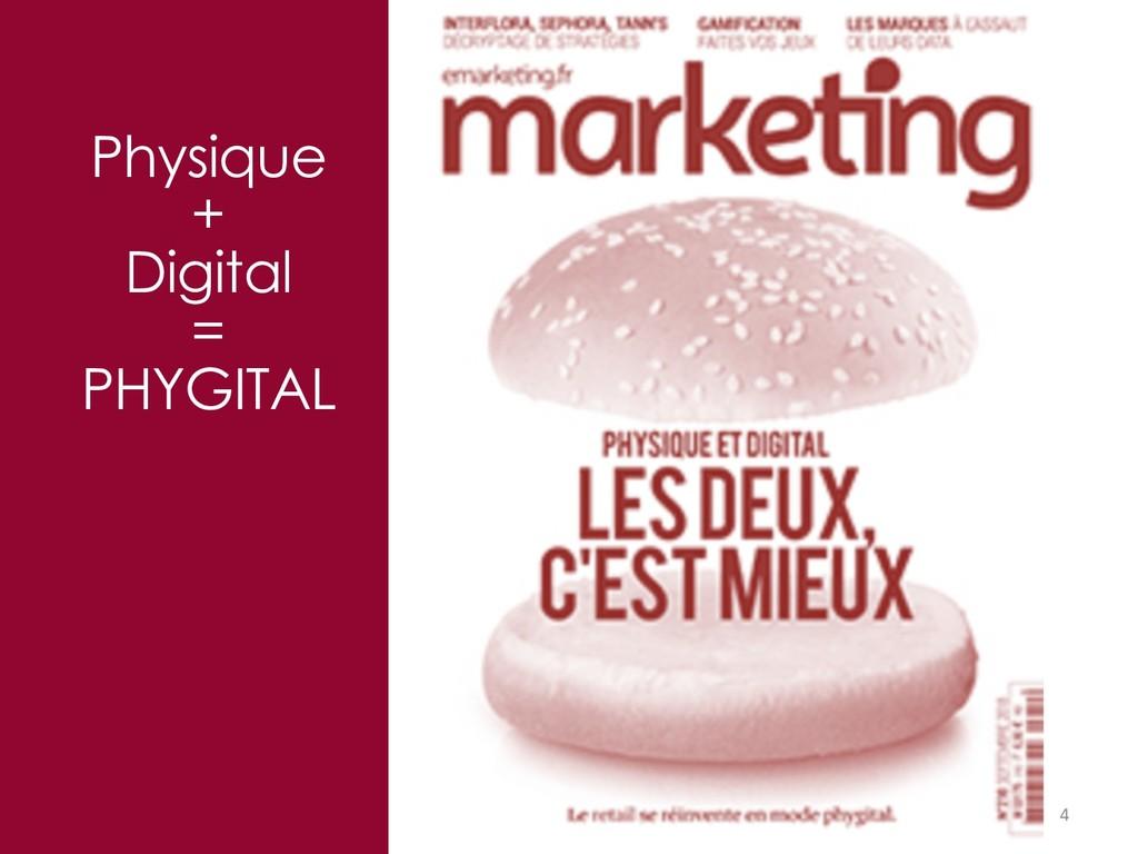 4 Physique + Digital = PHYGITAL
