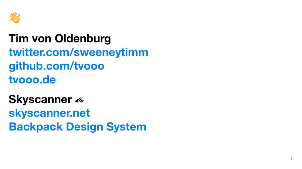 ! Tim von Oldenburg twitter.com/sweeneytimm git...