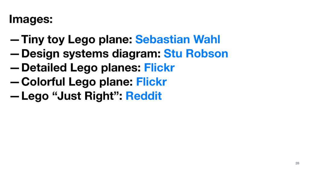 Images: —Tiny toy Lego plane: Sebastian Wahl —D...