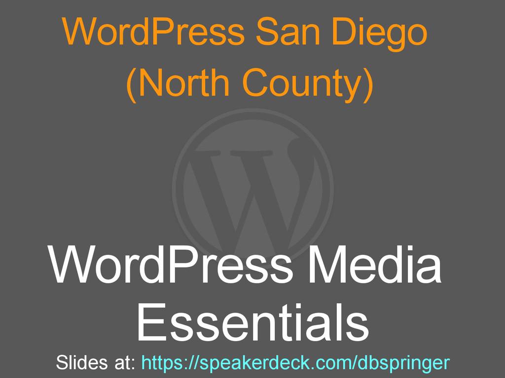 WordPress San Diego (North County) WordPress Me...