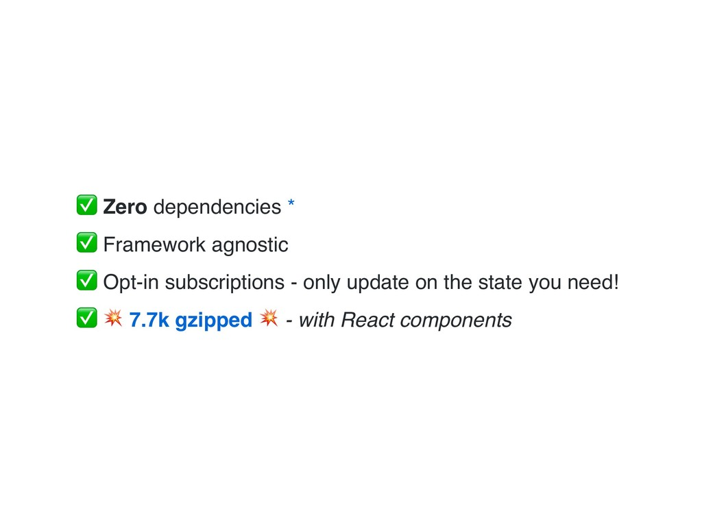 ✅ Zero dependencies * ✅ Framework agnostic ✅ Op...