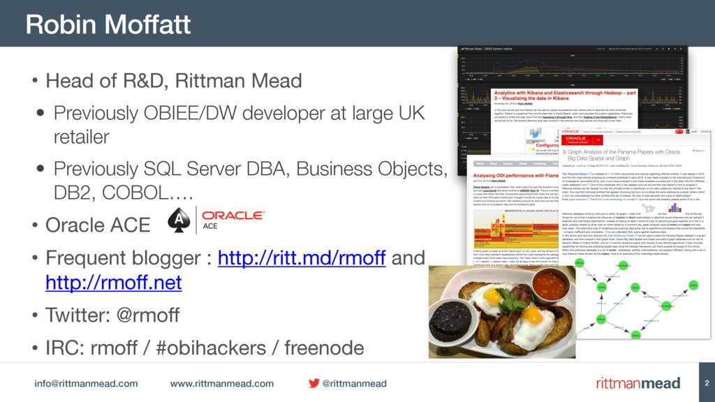 info@rittmanmead.com www.rittmanmead.com @rittm...