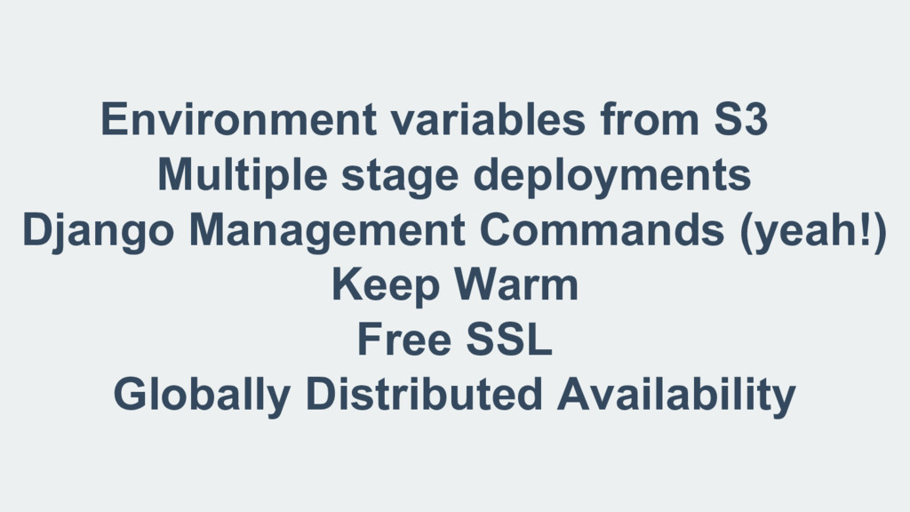 Environment variables from S3 Multiple stage de...