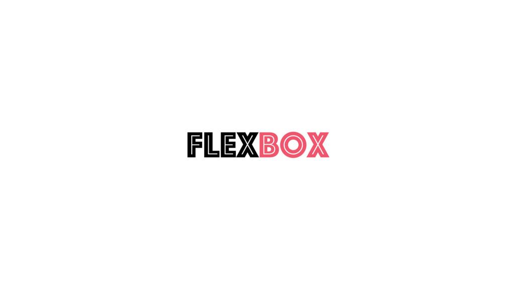 Flexbox