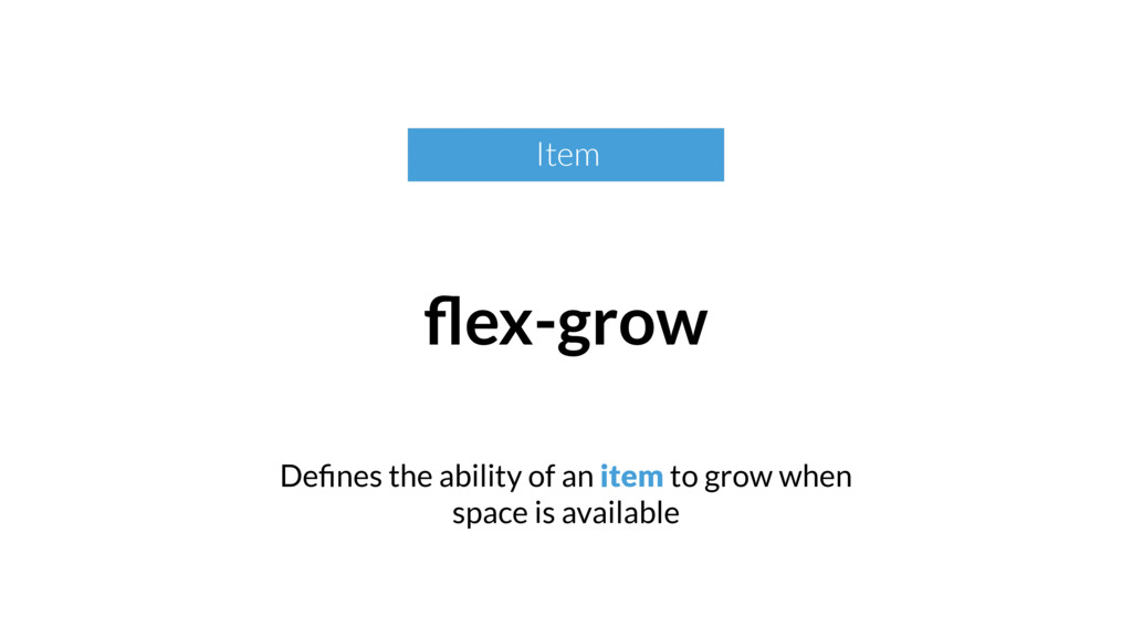 Defines the ability of an item to grow when spac...