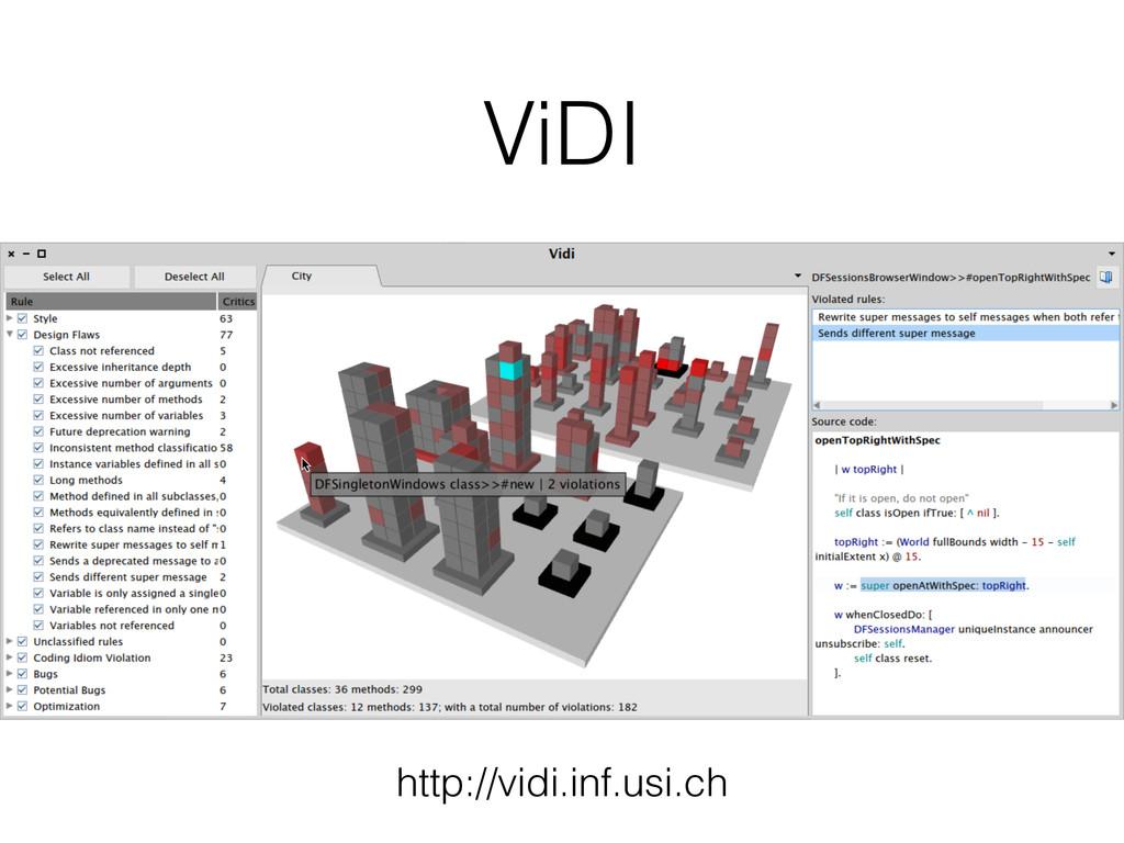 ViDI http://vidi.inf.usi.ch