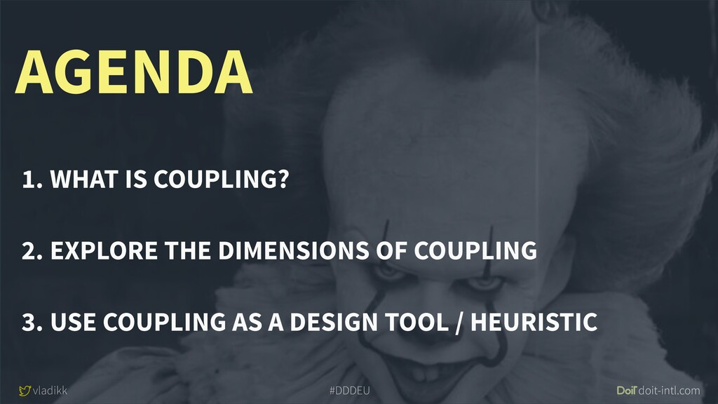 vladikk doit-intl.com #DDDEU AGENDA 1. WHAT IS ...