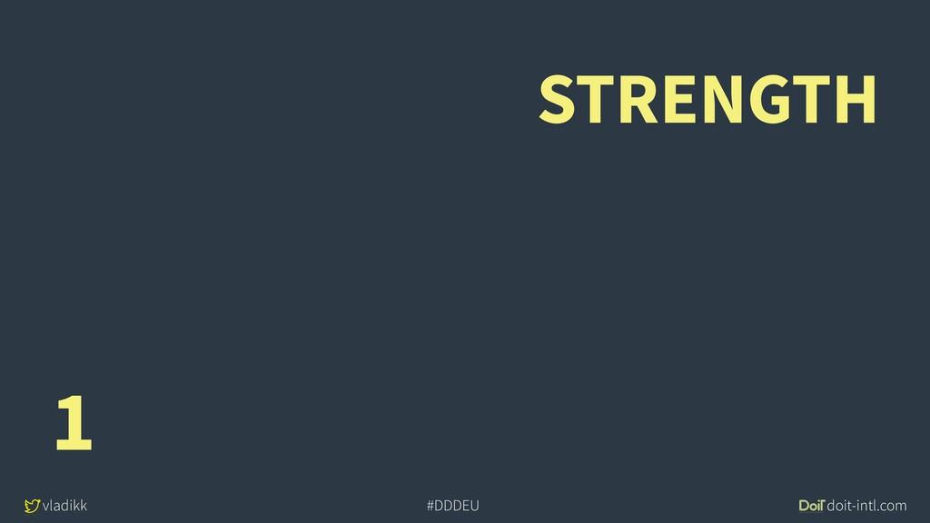 vladikk doit-intl.com #DDDEU STRENGTH 1