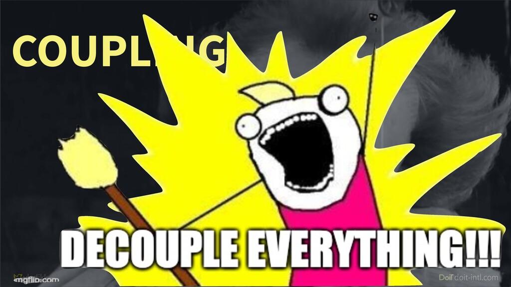 vladikk doit-intl.com #DDDEU COUPLING