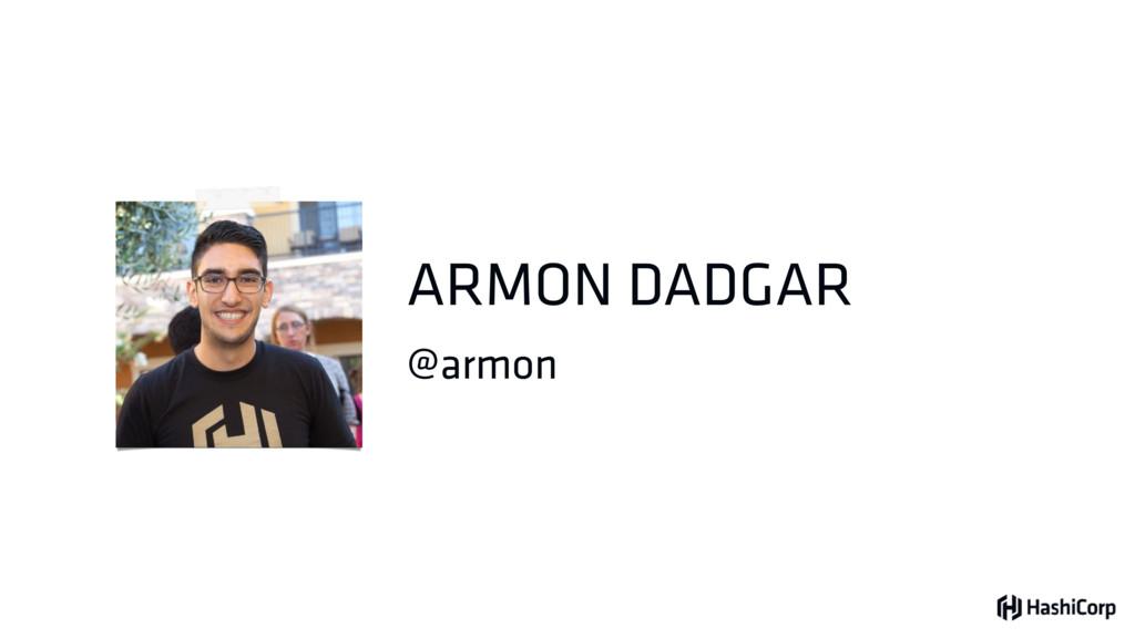 @armon ARMON DADGAR