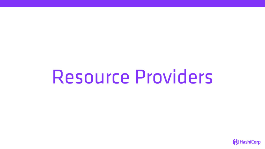 Resource Providers