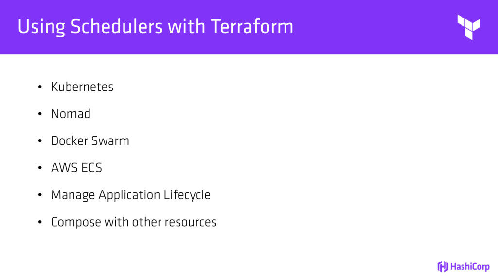 Using Schedulers with Terraform • Kubernetes • ...