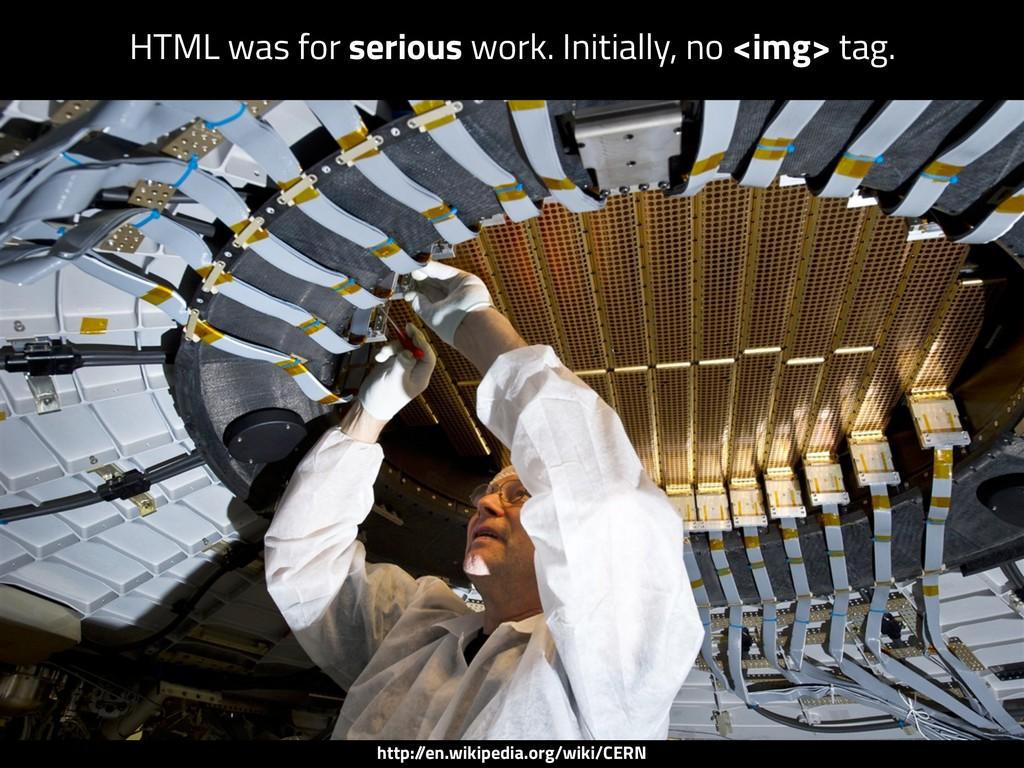 http:/ /en.wikipedia.org/wiki/CERN HTML was for...