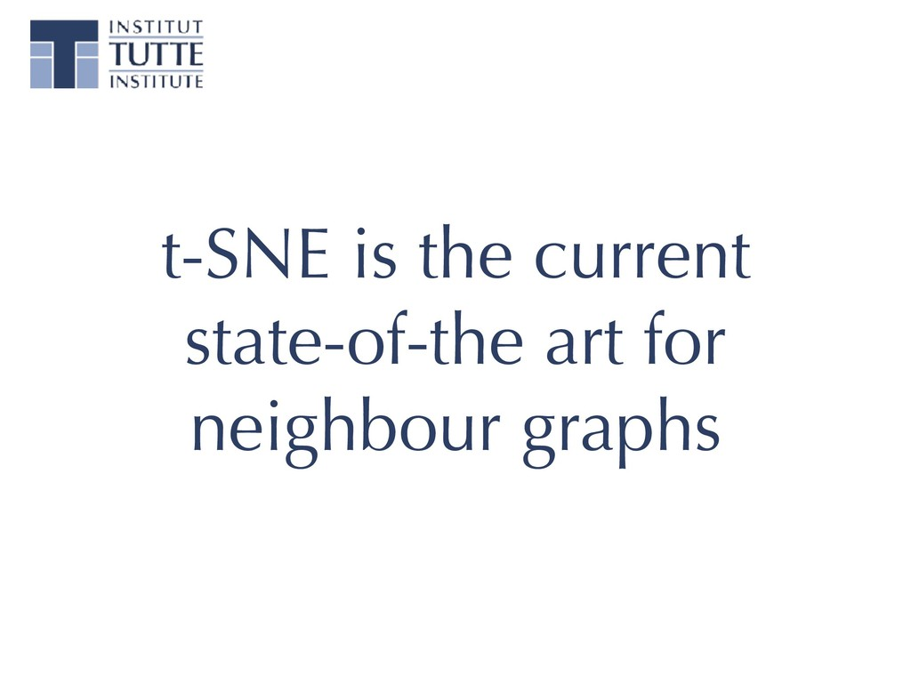 t-SNE is the current state-of-the art for neigh...