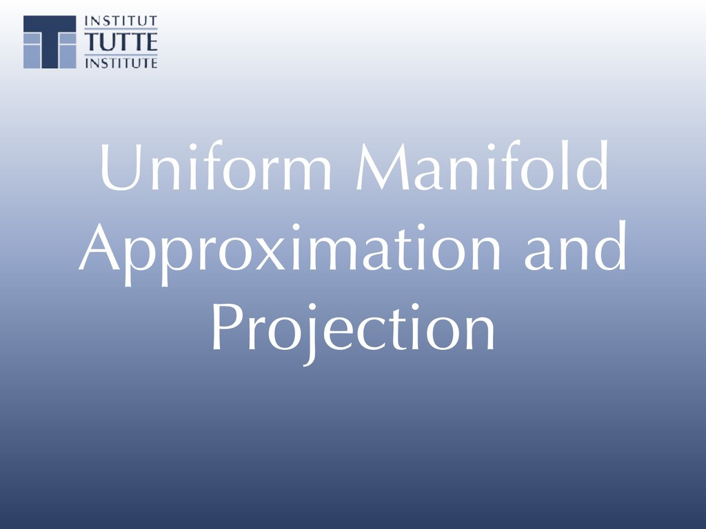 Uniform Manifold Approximation and Projection