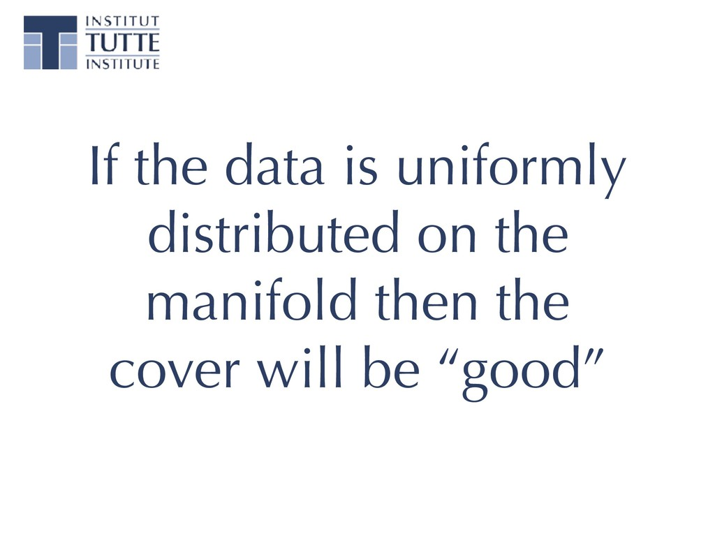 If the data is uniformly distributed on the man...