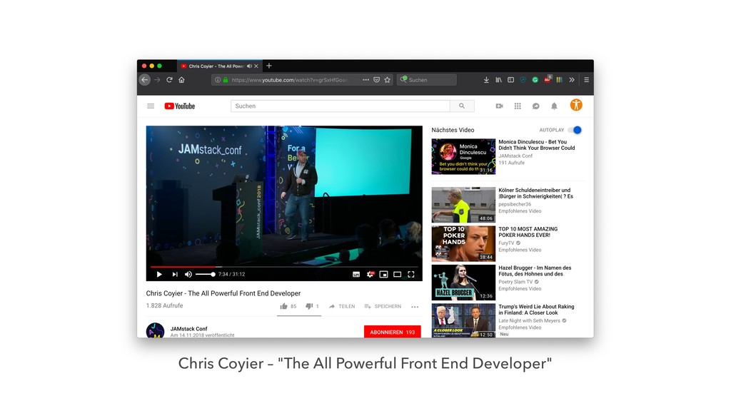 "Chris Coyier – ""The All Powerful Front End Deve..."