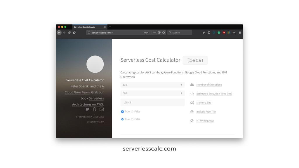serverlesscalc.com