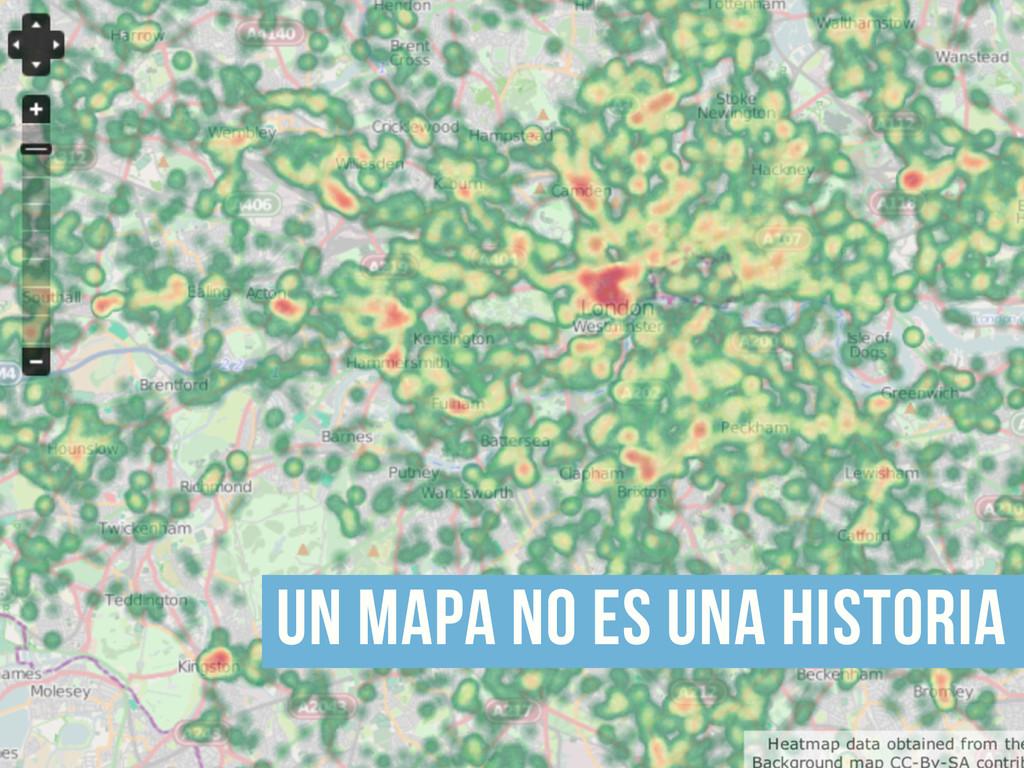 un mapa no es una historia