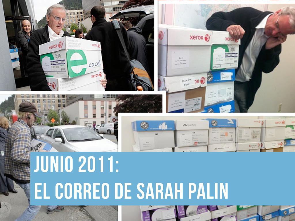 junio 2011:  el correo de sarah palin