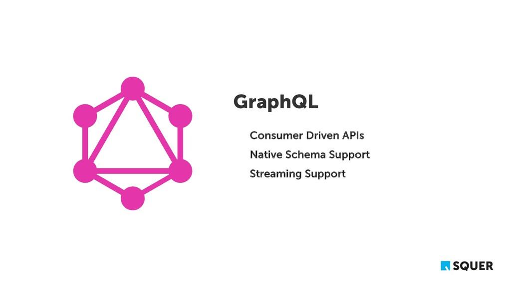 GraphQL Consumer Driven APIs Native Schema Supp...