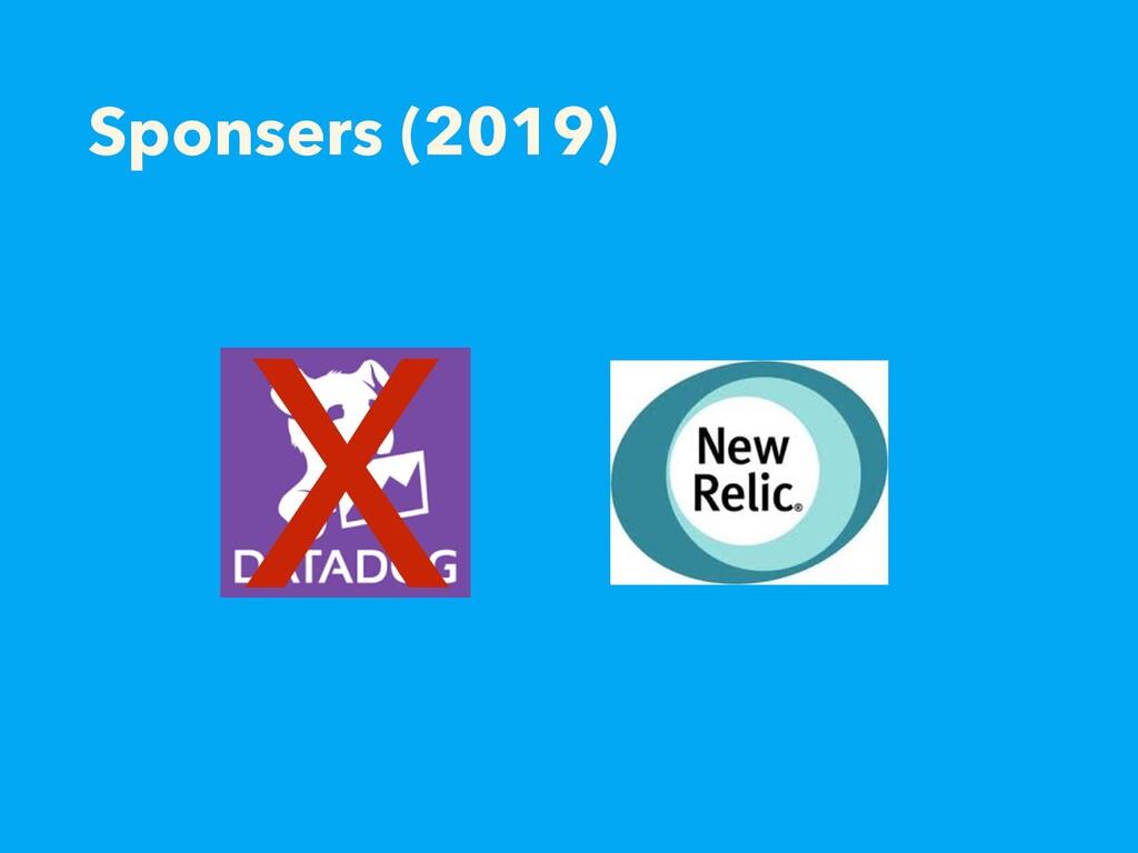 Sponsers (2019) X