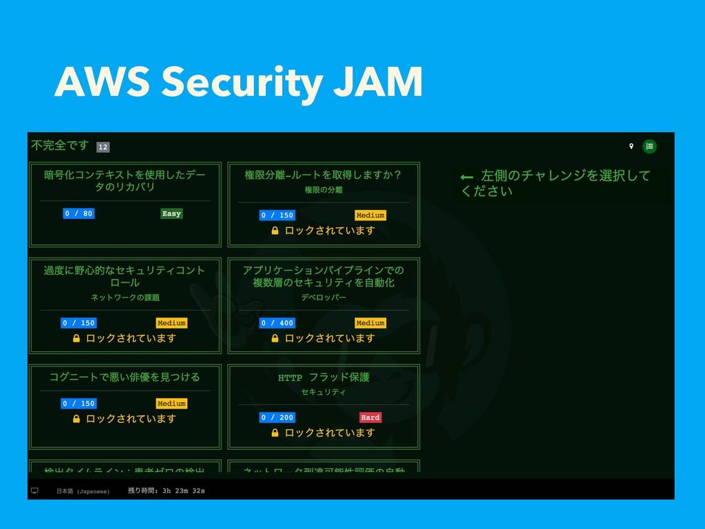 AWS Security JAM