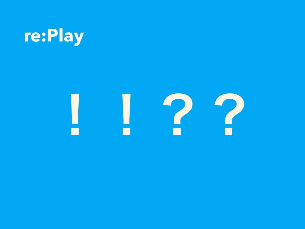 re:Play ʂʂʁʁ