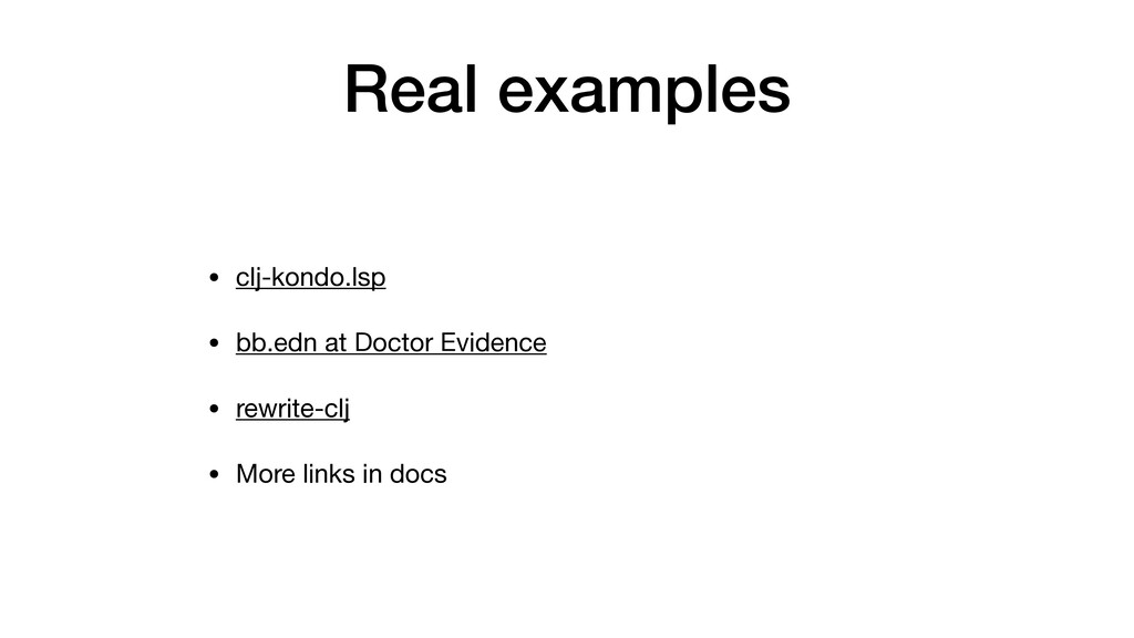 Real examples • clj-kondo.lsp  • bb.edn at Doct...