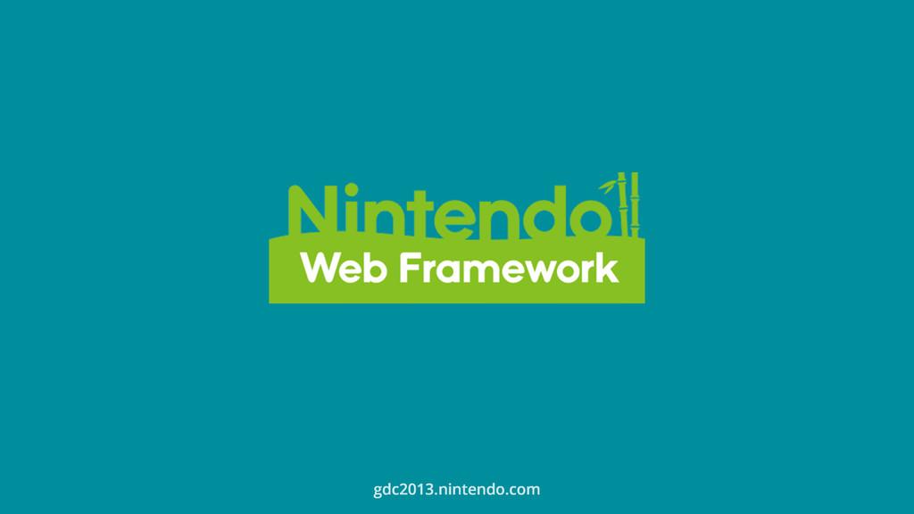 gdc2013.nintendo.com