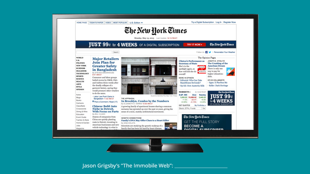"Jason Grigsby's ""The Immobile Web"":"