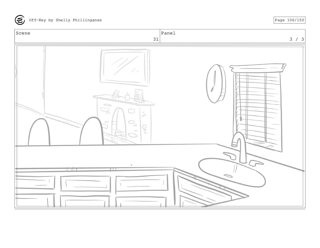 Scene 31 Panel 3 / 3 Off-Key by Shelly Philling...