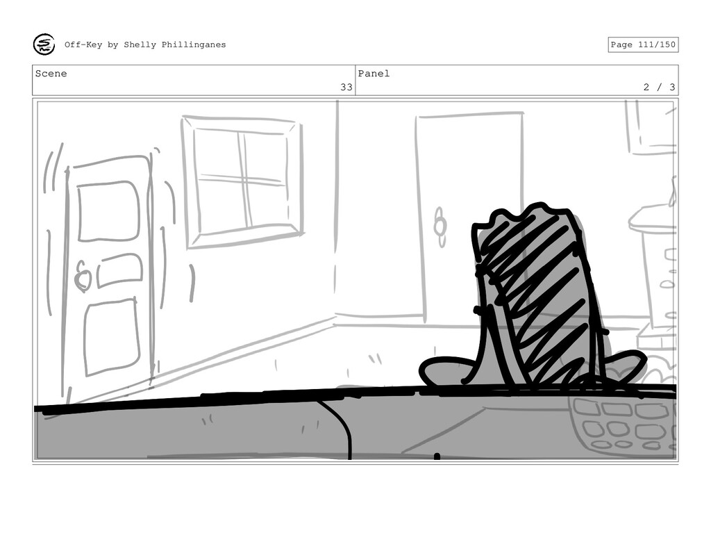 Scene 33 Panel 2 / 3 Off-Key by Shelly Philling...