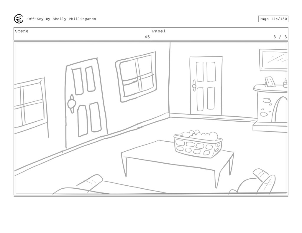 Scene 45 Panel 3 / 3 Off-Key by Shelly Philling...