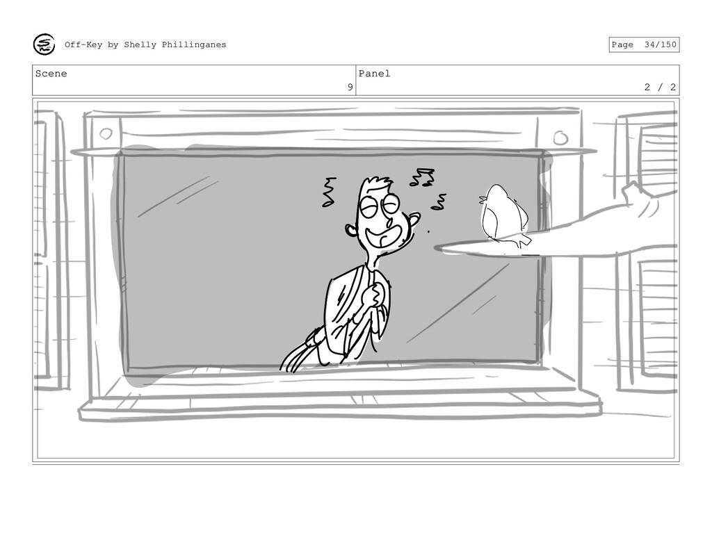 Scene 9 Panel 2 / 2 Off-Key by Shelly Phillinga...