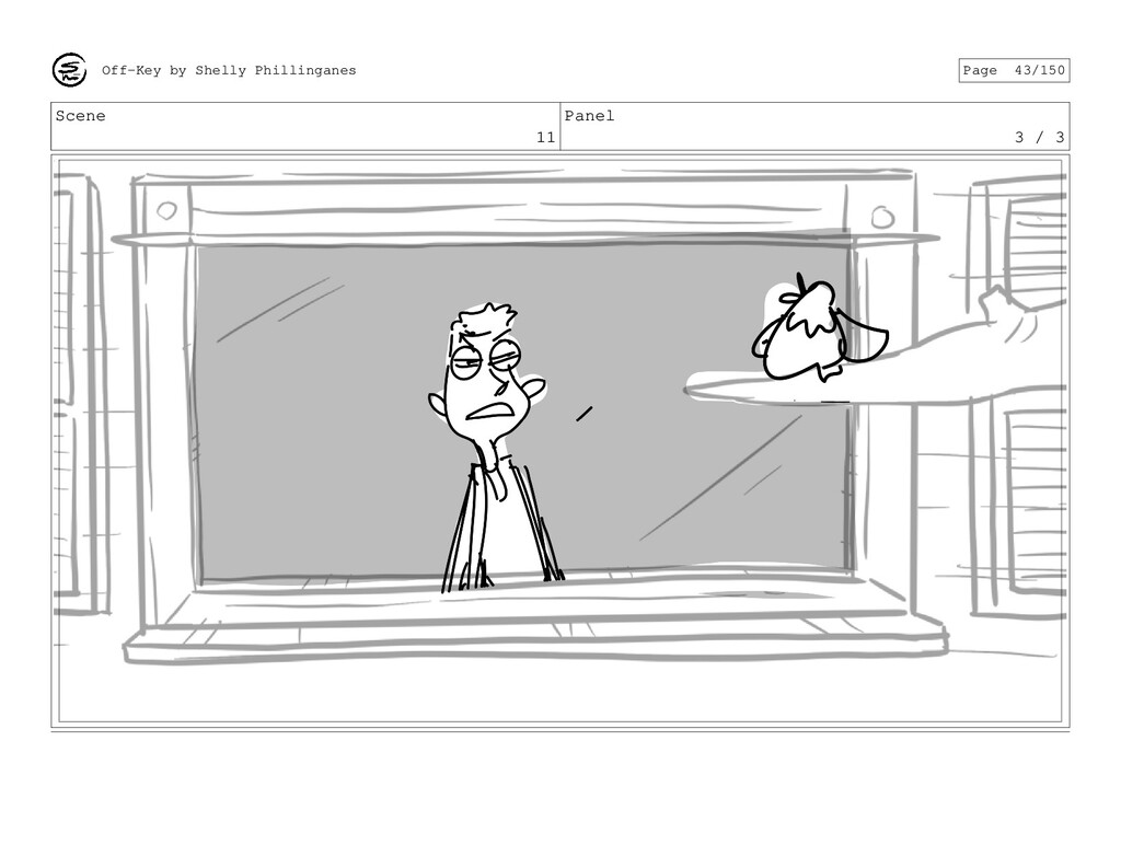 Scene 11 Panel 3 / 3 Off-Key by Shelly Philling...