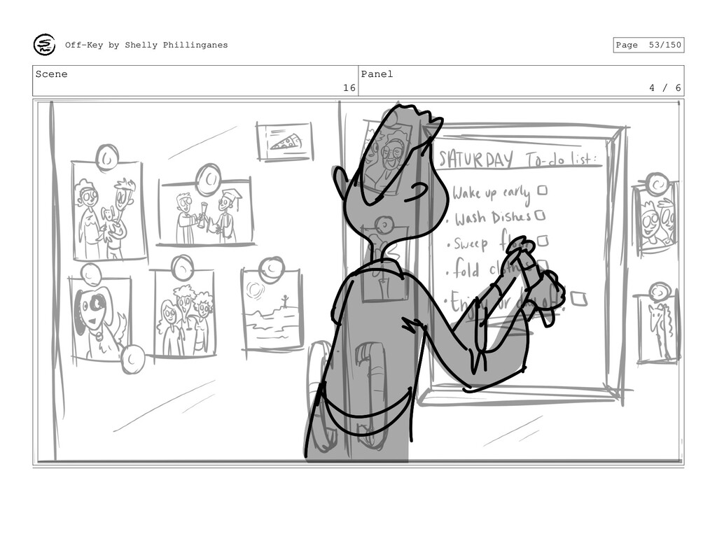 Scene 16 Panel 4 / 6 Off-Key by Shelly Philling...