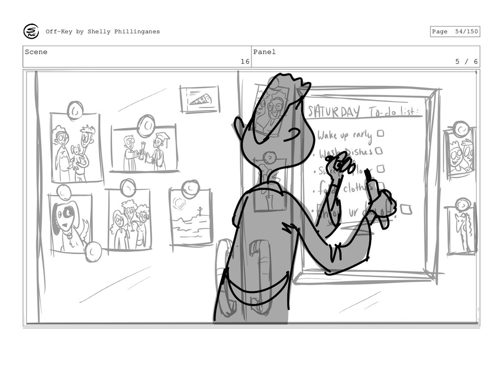 Scene 16 Panel 5 / 6 Off-Key by Shelly Philling...