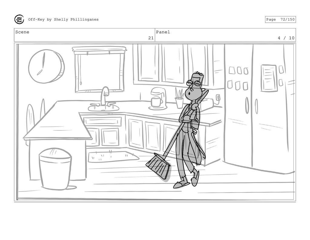 Scene 21 Panel 4 / 10 Off-Key by Shelly Phillin...