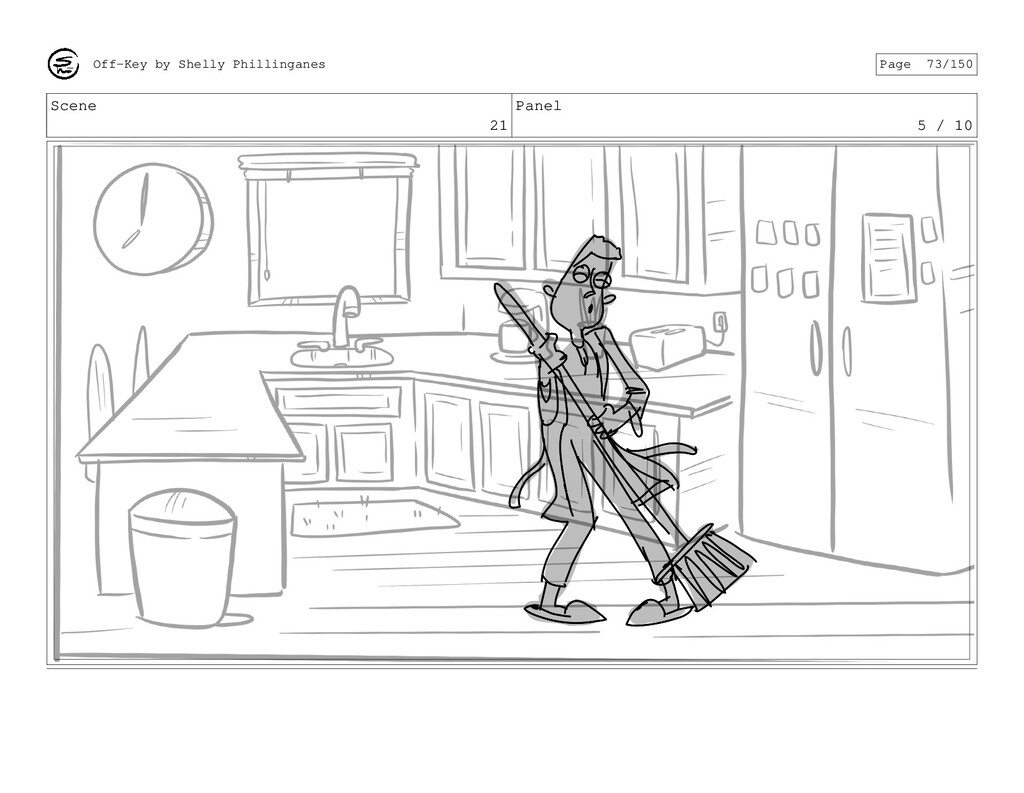 Scene 21 Panel 5 / 10 Off-Key by Shelly Phillin...