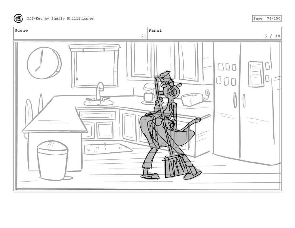 Scene 21 Panel 6 / 10 Off-Key by Shelly Phillin...